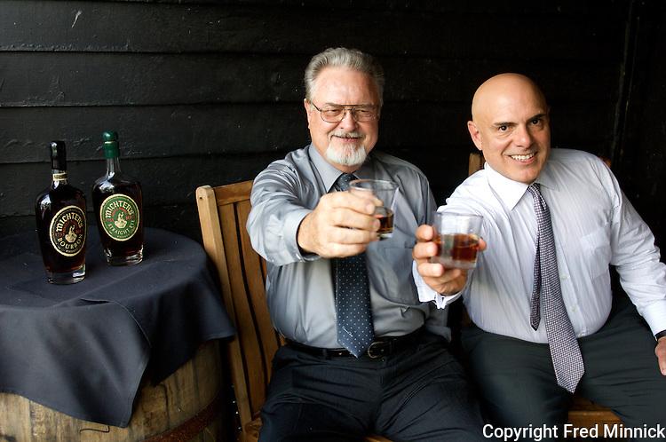 Willie Pratt, Michter's Master Distiller (left), and Company President Joseph J. Magliocco