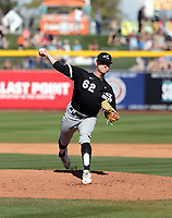 Zack Burdi - Chicago White Sox 2020 spring training (Bill Mitchell)
