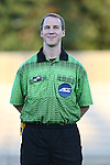 17 September 2016: Referee Sean Regan. The Duke University Blue Devils hosted the Boston College Eagles at Koskinen Stadium in Durham, North Carolina in a 2016 NCAA Division I Women's Soccer match. Duke won the game 3-2.