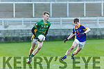 At the Munster Schools Under 18 1/2 Corn Uí Mhuirí Final Tralee CBS v St Brendans College on Saturday at Austin Stack Park. Pictured
