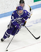 Ryan Gay (Curry - 3), Mike Domsodi (WIT - 28) - The Wentworth Institute of Technology Leopards defeated the visiting Curry College Colonels 1-0 on Saturday, November 23, 2013, at Walter Brown Arena in Boston, Massachusetts.