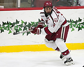 Alexander Kerfoot (Harvard - 14) - The Harvard University Crimson defeated the US National Team Development Program's Under-18 team 5-2 on Saturday, October 8, 2016, at the Bright-Landry Hockey Center in Boston, Massachusetts.