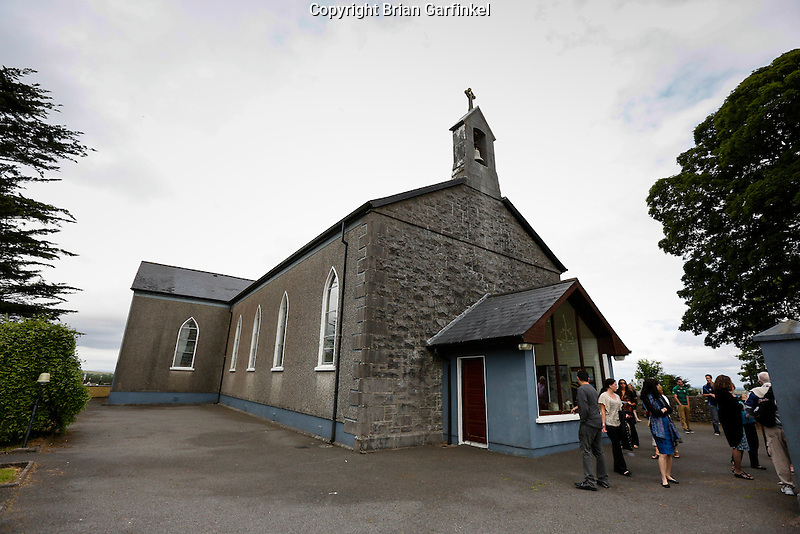 Saint Patrick's Church in Granlahan, County Roscommon, Ireland on Tuesday, June 25th 2013. (Photo by Brian Garfinkel)