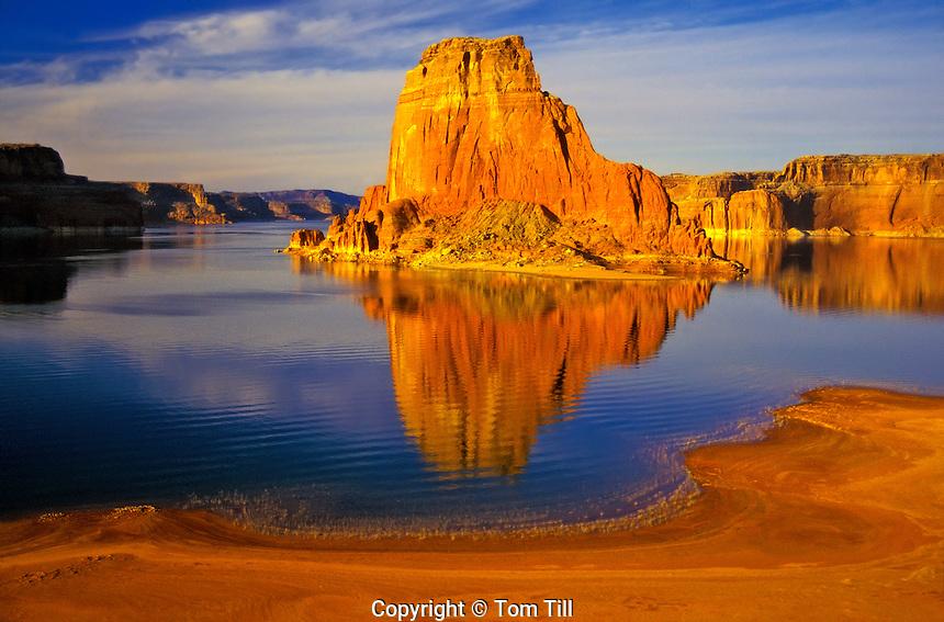 Gregory Butte, Glen Canyon National Recreationa Area, Lake Powell, near Arizona / Utah Border, Utah