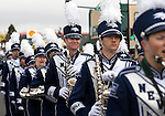 The University of Nevada, Reno marching band participates in the annual Nevada Day parade in Carson City, Nev. on Saturday, Oct. 29, 2016. <br />