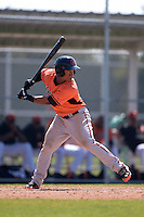 Baltimore Orioles Ronarsy Ledesma (60) during a minor league spring training game against the Boston Red Sox on March 18, 2015 at the Buck O'Neil Complex in Sarasota, Florida.  (Mike Janes/Four Seam Images)