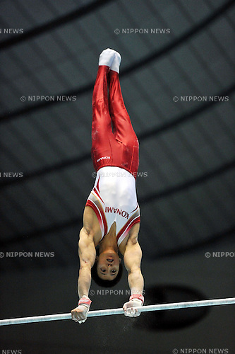 Kenya Kobayashi (JPN), APRIL 24th, 2011 - Artistic gymnastics : The 65th All Japan Gymnastics Championship Individual All-Around, Men's Individual 2nd day at 1st Yoyogi Gymnasium, Tokyo, Japan. (Photo by Jun Tsukida/AFLO SPORT) [0003]