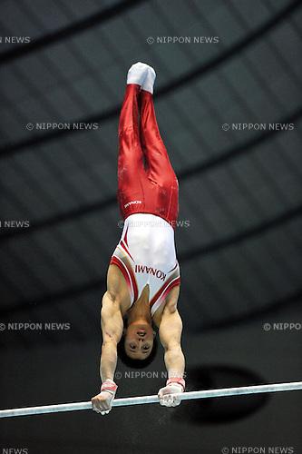Kenya Kobayashi (JPN), APRIL 24th, 2011 - Artistic gymnastics : The 65th All Japan Gymnastics Championship Individual All-Around, Men's Individual 2nd day at 1st Yoyogi Gymnasium, Tokyo, Japan. (Photo by Jun Tsukida/AFLO SPORT) [0003]