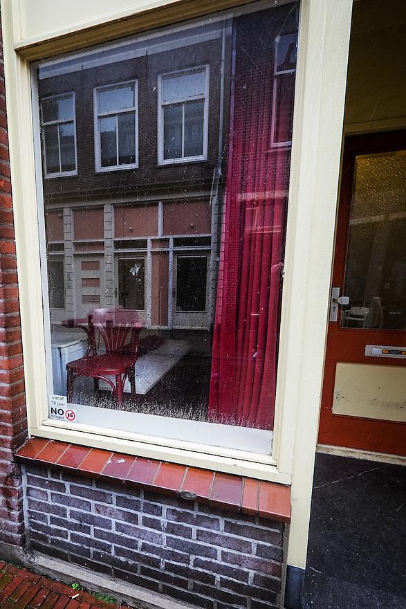 Nederland, Utrecht, 26 maart 2015<br /> Peeskamer in de Harde Bollenstraat in Utrecht.<br /> Foto: (c) Michiel Wijnbergh