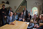 Nederland, Achlum, 28-05-2011 CONVENTIE VAN ACHLUM. Huiskamer gesprek met Job Cohen PvdA Tweede Kamer fractieleider. FOTO: Gerard Til / Hollandse Hoogte