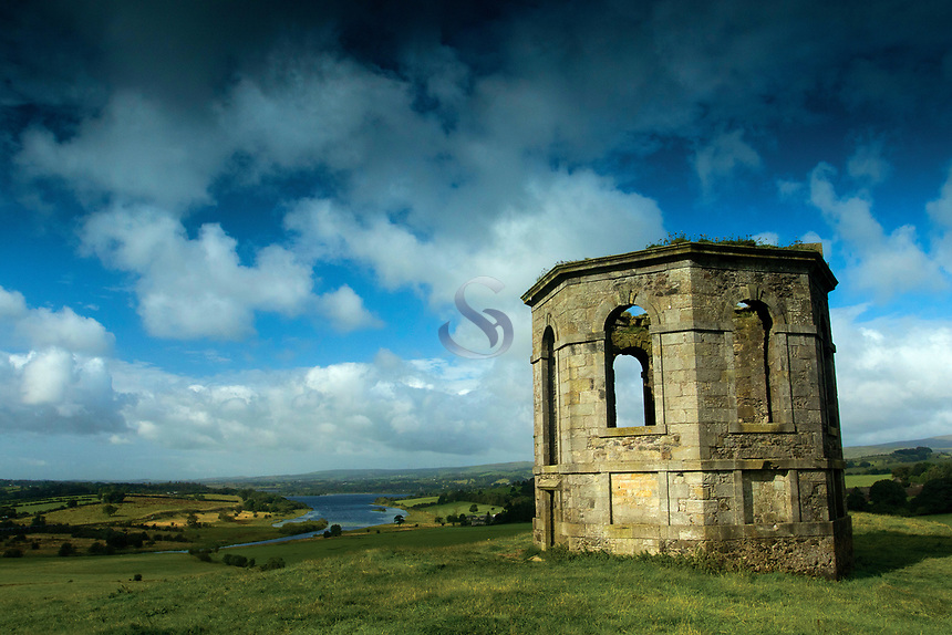 The Temple on Kenmure Hill, near Castle Semple Loch, Lochwinnoch, Renfrewshire