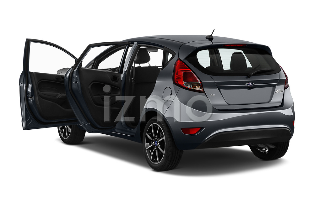 Car images close up view of a 2019 Ford Fiesta SE 5 Door Hatchback doors