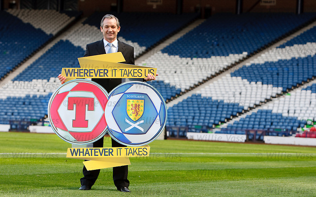 George Burley takes centre stage at Hampden today as he names his 24 man squad to face Holland in Amsterdam
