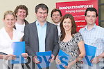 INVITE: Kerry Soft invited business people to an Executive Management Best Practices seminar on Tuesday evening at Kerry Technology Park (Innovation Works), Dromtacker, Tralee. L-r: Siobhan Naughton (Shannon Development), John Prendergast (Aonach), Tony McCarthy (Growth Strategy Group, Speaker), Tony O'Reilly (OReilly & Company), Marie Lynch (Shannon Development Manager) and Peter McCormack (New Odyssey)..