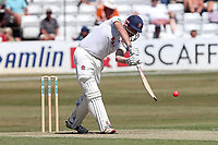 Nick Browne in batting action for Essex during Essex CCC vs Somerset CCC, Specsavers County Championship Division 1 Cricket at The Cloudfm County Ground on 25th June 2018