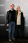 Alberto Ammann and Clara Mendez-Leite attends to IQOS3 presentation at Palacio de Cibeles in Madrid. February 10,2019. (ALTERPHOTOS/Alconada)