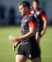 George Ford (Leicester Tigers) during the England Rugby training session at  Jonsson Kings Park Stadium,Durban.South Africa. 05,06,2018 Photo by Steve Haag)