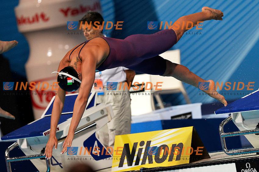 Federica Pellegrini Italia Women's 200m Freestyle <br /> Swimming - Nuoto <br /> Barcellona 30/7/2013 Palau St Jordi <br /> Barcelona 2013 15 Fina World Championships Aquatics <br /> Foto Andrea Staccioli Insidefoto
