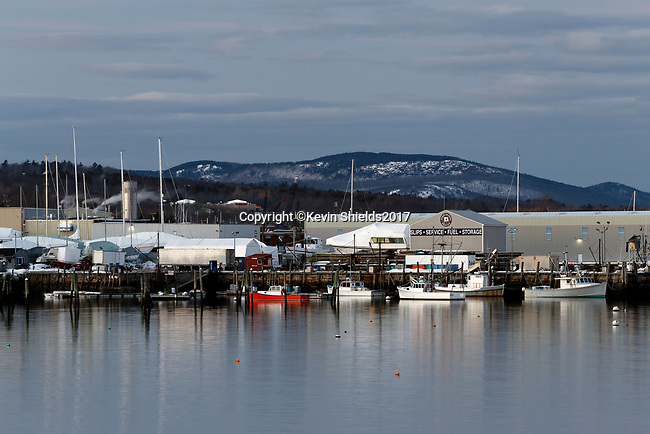 Journeys End Marina, Rockland, Maine, USA