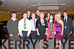 Nano Nagle Social : Attendin the Nano Nagle School Social held at the Listowel Arms Hotel on Friday Night last were in front : Philip Fitzmaurice, Brendan O'Sullivan, William O'Connell, Principal Bridie Murphy, Cathleen Hadnett & Michelle Halpin. Back : Fergal Keane, Niall Murphy, Peggy Fitzmaurice, Helen Lane & Tony Murphy.