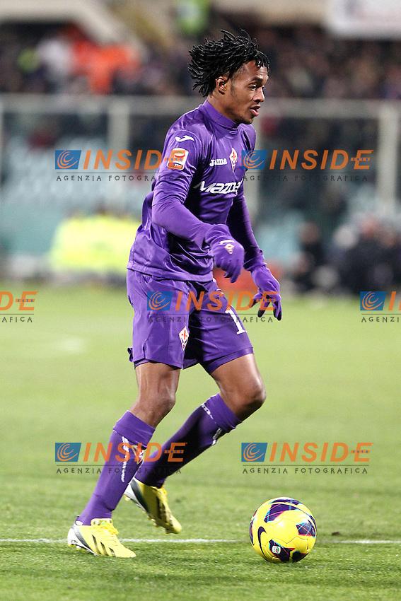 "Juan Cuadrado Fiorentina.Firenze 17/02/2013 Stadio ""Franchi"".Football Calcio Serie A 2012/13.Fiorentina v Inter.Foto Insidefoto Paolo Nucci."