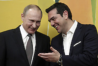 2016 05 27 Vladimir Putin official visit in Athens, Greece