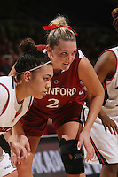 STANFORD, CA - JANUARY 30:  Jayne Appel of the Stanford Cardinal during Stanford's 83-62 win over Arizona on January 30, 2010 at Maples Pavilion in Stanford, California.