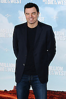 "Seth McFarlane at the photocall for ""A Million Ways to Die in the West"" at Claridges Hotel, London. 27/05/2014 Picture by: Steve Vas / Featureflash"