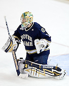 Jordan Pearce (Notre Dame - 1) - The University of Notre Dame Fighting Irish defeated the Boston College Eagles 4-1 on Friday, November 7, 2008, at Conte Forum in Chestnut Hill, Massachusetts.