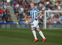 Huddersfield Town's Aaron Mooy <br /> <br /> Photographer Stephen White/CameraSport<br /> <br /> The Premier League - Huddersfield Town v Leicester City - Saturday 6th April 2019 - John Smith's Stadium - Huddersfield<br /> <br /> World Copyright © 2019 CameraSport. All rights reserved. 43 Linden Ave. Countesthorpe. Leicester. England. LE8 5PG - Tel: +44 (0) 116 277 4147 - admin@camerasport.com - www.camerasport.com