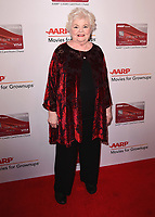 BEVERLY HILLS, CA - FEBURARY 5:  June Squibb at AARP's 17th Annual Movies for Grownups Awards at the Beverly Wilshire Hotel on February 5, 2018 in Beverly Hills, California. (Photo by Scott Kirkland/PictureGroup)