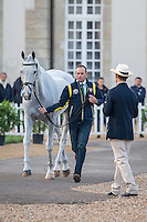 AUS-Stuart Tinney (PLUTO MIO) FINAL HORSE INSPECTION: EVENTING: The Alltech FEI World Equestrian Games 2014 In Normandy - France (Sunday 31 August) CREDIT: Libby Law COPYRIGHT: LIBBY LAW PHOTOGRAPHY - NZL