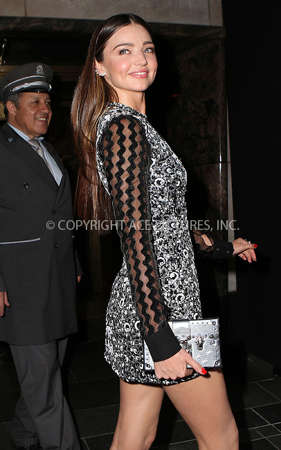 WWW.ACEPIXS.COM<br /> <br /> May 4 2015, New York City<br /> <br /> Miranda Kerr on the night of the Met Gala on May 4 2015 in New York City<br /> <br /> By Line: Nancy Rivera/ACE Pictures<br /> <br /> <br /> ACE Pictures, Inc.<br /> tel: 646 769 0430<br /> Email: info@acepixs.com<br /> www.acepixs.com