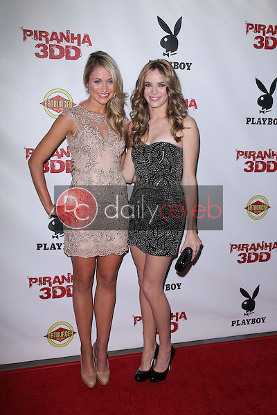 Katrina Bowden, Danielle Panabaker<br />