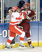 Peter MacArthur, Tim Filangieri - The Boston College Eagles defeated the Boston University Terriers 5-0 on Saturday, March 25, 2006, in the Northeast Regional Final at the DCU Center in Worcester, MA.