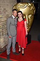 Louis Payne and Leona Vaughan<br /> arriving for the BAFTA Childrens Awards 2017 at the Roundhouse, Camden, London<br /> <br /> <br /> ©Ash Knotek  D3353  26/11/2017