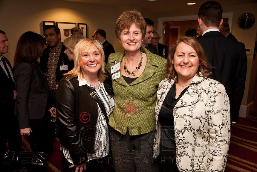 Marie mays of Redd Lifestyle Salon, Alison Rayner of Initial Design and Deborah Labbate