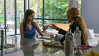 A Simple Favor (2018) <br /> Anna Kendrick &amp; Blake Lively <br /> *Filmstill - Editorial Use Only*<br /> CAP/MFS<br /> Image supplied by Capital Pictures