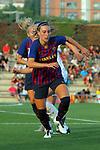 FC Barcelona vs Montpellier HSC: 1-2.<br /> Gemma Gili.