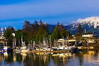 Harbor, Wrangell, southeast Alaska USA