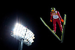 Kamil Stoch of Poland during the Men's Normal Hill Individual of the 2014 Sochi Olympic Winter Games at Russki Gorki Ski Juming Center on February 9, 2014 in Sochi, Russia. Photo by Victor Fraile / Power Sport Images