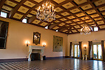 Deering residence ballroom.