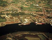 Oktober 1972. Boelwerf in Temse.