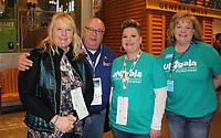 NWA Democrat-Gazette/CARIN SCHOPPMEYER Corinna and Alan Dranow, Jen Cozens and Julie Gunter attend the Ungala.