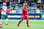 Stockholm 2014-04-14 Fotboll Superettan Hammarby IF - Degerfors IF :  <br /> Degerfors Sebastian Castro-Tello ser nedst&auml;md ut<br /> (Foto: Kenta J&ouml;nsson) Nyckelord:  HIF Bajen Degerfors depp besviken besvikelse sorg ledsen deppig nedst&auml;md uppgiven sad disappointment disappointed dejected