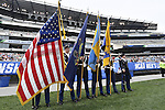 30 MAY 2016: Color guard are seen during the Division 1 Men's Lacrosse Championship between the University of Maryland and the University of North Carolina at Lincoln Financial Field in Philadelphia, PA. Larry French/NCAA Photos