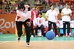 Haruka Wakasugi (JPN),<br /> SEPTEMBER 12, 2016 - Goalball : <br /> Preliminary Round<br /> match between Japan - Algeria<br /> at Future Arena<br /> during the Rio 2016 Paralympic Games in Rio de Janeiro, Brazil.<br /> (Photo by Shingo Ito/AFLO)