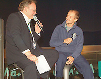 21-2-06, Netherlands, tennis, Rotterdam, ABNAMROWTT, Tennisplaza, intervieuw with Davydenko