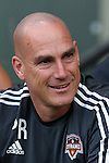 20 June 2015: Houston assistant coach Paul Rogers. The Portland Timbers FC hosted the Houston Dynamo at Providence Park in Portland, Oregon in a Major League Soccer 2015 regular season match. Portland won the game 2-0.