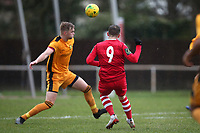 Jamie Cureton of Hornchurch hits the post with a long range effort during Hornchurch vs Merstham, BetVictor League Premier Division Football at Hornchurch Stadium on 15th February 2020